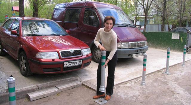 Как сделать парковку для машин во дворе